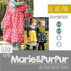 Dieser Artikel beinhalten Schnitt und Anleitung für das Ballonkleid Marie, das man auch als Bündchenkleid und Doppellagenkleid nähen kann (kurz- und langärmlig oder ohne Arm), sowie die Erweiterung...