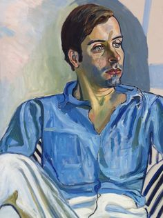 Alice Neel (American, 1900-1984), Hartley, 1971. Oil on canvas, 40 x 30 in.