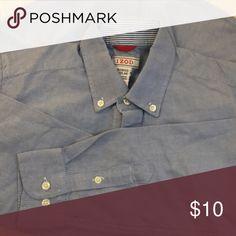 58ec6f466fca I just added this listing on Poshmark  Blue button down.  shopmycloset   poshmark