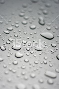 Silver Droplets Royalty Free Stock Photo