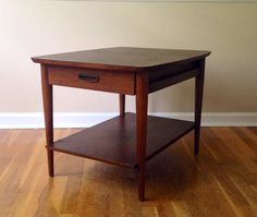 "Mid Century Lane Coffee Table by RetroModernJoy on Etsy, $160.00 Approx 20"" Tall 28"" Long 22"" Wide - a bit short"