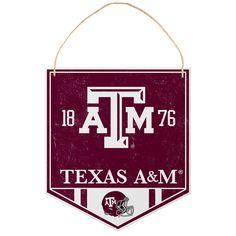 Texas A&M Aggies Metal Garden Sign