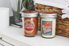 Cute Autumn candles from Bath and Body works