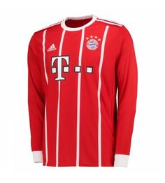 "Bayern Munich embroidered crest on left chest. ""FC Bayern Mnchen"" heat transferred on upper back. Soccer Shop, Soccer Boys, Soccer Jerseys, Premier League, Cristiano Ronaldo Juventus, Fc Bayern Munich, Team Uniforms, Football Kits, Jersey Shorts"