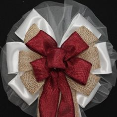 Hey, I found this really awesome Etsy listing at https://www.etsy.com/listing/179169894/burgundy-and-natural-burlap-rustic