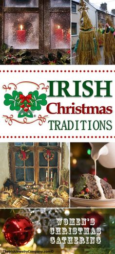 Irish Christmas Traditions - - Ireland is a magical country, filled with tradition and folklore dating back many years. Christmas in Ireland is an especially magical time of year. Many Irish Christmas traditions have become part…. Noel Christmas, All Things Christmas, Winter Christmas, Christmas Crafts, Christmas Decorations, Xmas, Christmas Recipes, Celtic Christmas, Magical Christmas