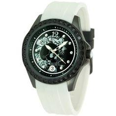 Ed Hardy Women's TE-WH Techno White Watch (Watch)  http://www.amazon.com/dp/B005UOMM0W/?tag=cbpinterest-20  B005UOMM0W