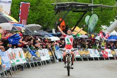 Eva Lechner (Team Colnago Suditrol) wins in the rain at Albstadt MTB world cup