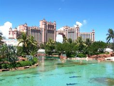 Atlantis Resort in the Bahamas - Ever since Mary Kate and Ashley's movie there, I've wanted to go!