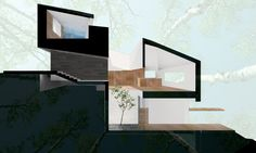 Twin Houses by Predock Frane Architects