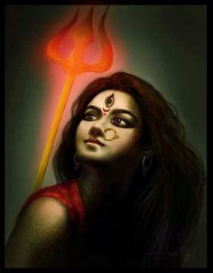Maa Durga - so beautiful and powerful!