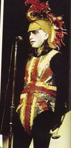 Peter Gabriel with Genesis on the Selling England by the Pound Tour