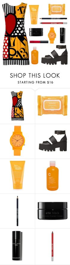 """""""""""The moment where you doubt whether you can fly, you cease forever being able to do it"""" - (J.M Barrie, Peter Pan)"""" by punkrockmeansfreedom ❤ liked on Polyvore featuring Moschino, Ole Henriksen, Komono, Windsor Smith, philosophy, Modern Organic Products, Lord & Berry, arbÅ«, Bobbi Brown Cosmetics and Urban Decay"""
