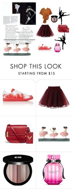 """""""other way"""" by blue4828 on Polyvore featuring adidas, Alexander McQueen, Chicwish, Valentino, Edward Bess and Victoria's Secret"""