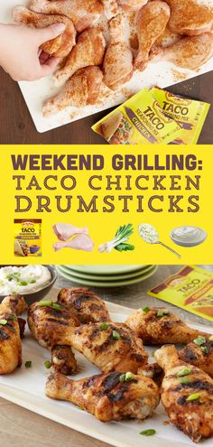 Weekends in the summer are all about grilling...and probably yard work, but let's focus on the fun stuff!