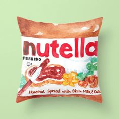 This chic cushion cover. | Community Post: 12 Perfect Gifts For The Nutella Lover In Your Life
