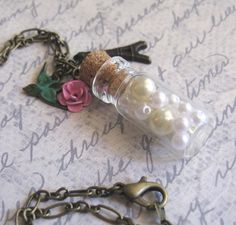 Hope in a Bottle Necklace