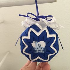 LA dodgers ornament