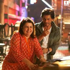 Farah and Shakrukh khan