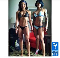 My motivation. Follow the Lita and Mankofit. These ladies are dedicated to a super fit and healthy lifestyle.
