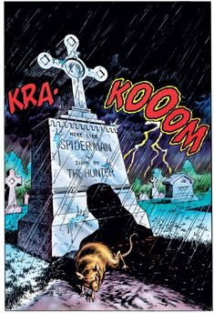 Spider-Man: Kraven's Last Hunt page Spider Verse, Stan Lee Spiderman, Marvel Secret Wars, Comic Art Community, Comic Book Panels, Splash Page, Marvel Art, Marvel Heroes, Amazing Spiderman