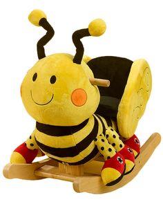 Rockabye Buzzy Bee Wooden Rocker
