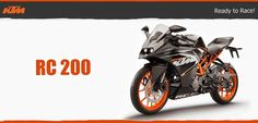 Look for the latest KTM RC 200 Mileage and Top Speed that ranges up to 60kmph and 132.2kmph respectively. Click here for more KTM RC 200 Features.
