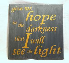 Mumford and Sons Lyrics   Give Me Hope in the by PeaceLoveNCanvas, $35.00