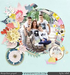 What a stunning layout to document a stunning photo that designer @beavalint shares today! We just love how Bea used the September 2017 Hip Kits to create this!!