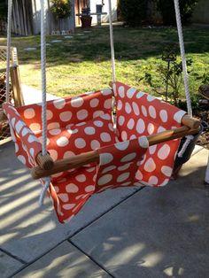 Urban Children's Indoor Outdoor Swing by BabySuzannaJohanna, $75.00
