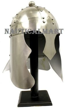 Medieval King Arthur helmet By Nauticalmart Knights Helmet, Medieval Armor, King Arthur, Kitchen Aid Mixer, Armour, Ultimate Collection, Plates, Amazon, Inventions