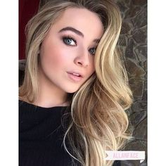 Sabrina Carpenter ❤ liked on Polyvore featuring people and faces