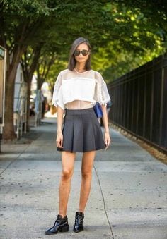 The XY Venture: New York Fashion Week Spring 2015 || Snapshots of Street Style