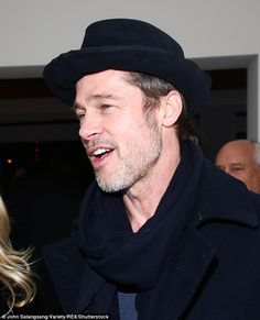 Look who's here! Brad Pitt, 54, made a rare public appearance on Thursday as he attended t...