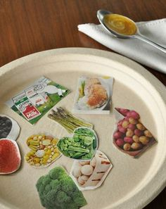 Teach your preschooler about healthy foods and how to make a meal that is good for her with this fun activity that you both can do together.
