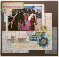 Paper Pals Design Team: Bo Bunny Prairie Chic