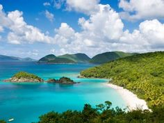 Dreaming of a nice, warm beach vacation!    Off-Season Destinations: Trunk Bay, St. John, US Virgin Islands