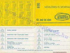 1974 - 1974_0607 - Régi magyar kártyanaptárak