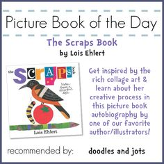 Here is a great pick for Lois Ehlert fans and fans of the art of picture books. Prepared to get inspired! Plus there's picks for pets and a turkey template, come on by!