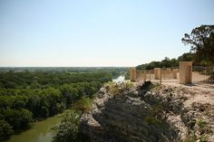 Cameron Park, Waco, TX...Lots of family picnics here. This is Lover's Leap.