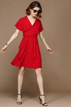 392bd3e0010 Robe estelle pomme d amour femme - sinéquanone 1