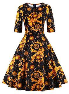 Ezcosplay Women Vintage 1950s Mid Sleeve Floral Print   https://www.amazon.com/gp/product/B01M1SHWTM/ref=as_li_qf_sp_asin_il_tl?ie=UTF8&tag=rockaclothsto_gothic-20&camp=1789&creative=9325&linkCode=as2&creativeASIN=B01M1SHWTM&linkId=5f6cf06fdc83edcf0cabc89bb6801f05