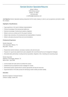 Protocol Specialist Sample Resume Sample Regulatory Specialist Resume  Resame  Pinterest