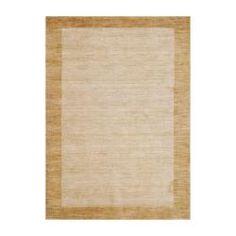 Indo Hand-knotted Tibetan Beige Wool Rug (4' x 6')  150.