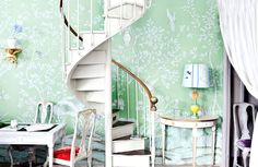 de Gournay: Our Collections - Wallpapers & Fabrics Collection - Chinoiserie Collection  