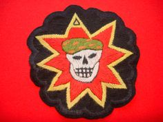 """Underground Vietnam Military Patch. Thompson Knox, owner of Alamo Military Collectibles in St. Louis told John Foster that """"Handmade patches for soldiers began during the Vietnam era,"""" he told me. """"Basically, some soldiers wanted unique patches to represent significant events in a soldiers tour — an unrecognized battle, a particular subgroup or unofficial unit."""" ... """"These patches were worn secretly, on the inside of hats or the inside of shirts."""