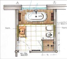 Die 66 Besten Bilder Von Badgrundriss Bathroom Remodeling