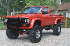 Toyota Hilux Long Bed Restored Lifted Power Steering / Brakes for sale: photos, technical specifications, description Mini Trucks, Custom Trucks, Cool Trucks, Pickup Trucks, Toyota Pickup 4x4, Toyota Trucks, Toyota Hilux, 2010 Toyota Tacoma, Rc Drift Cars