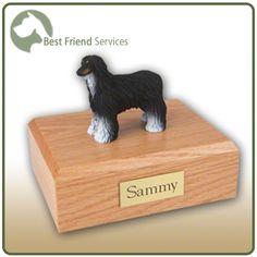 Afghan Hound Pet Figurine