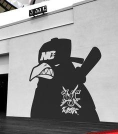 Extreme character brand 'Ninja crows Taylor' (BI) Brand character design introdution. Designed by doldol. doldoly2002@naver.com . #bi #ci #crow #graffiti #ninja #japan #emblem #logo #logodesign #brand #brandidentity #character #doldol #doldoldesign #snowboard #sticker #skateboard #longboard #surf #graphic #로고 #로고제작 #심볼 #엠블럼 #브랜드제작 #돌돌디자인 #닌자 #그래피티 #그래픽디자인 #일본디자인 #캐릭터제작 #캐릭터디자인 #일본스타일 #japanstyle #일본
